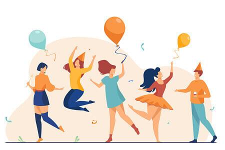 Peoples Dancing